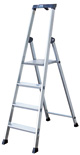 Solido Escalera de escalones, aluminium